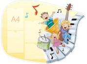 Оформление музыкального зала №2