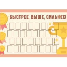 Стенды школьных достижений №10