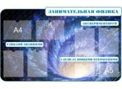 Оформление кабинета физики №13