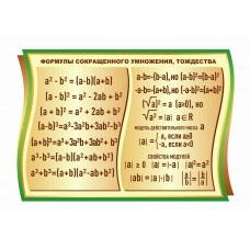 Оформление кабинета Математики №74