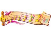 Оформление кабинета Музыки №09