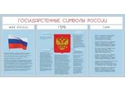 Стенд с символикой Регионов России №01